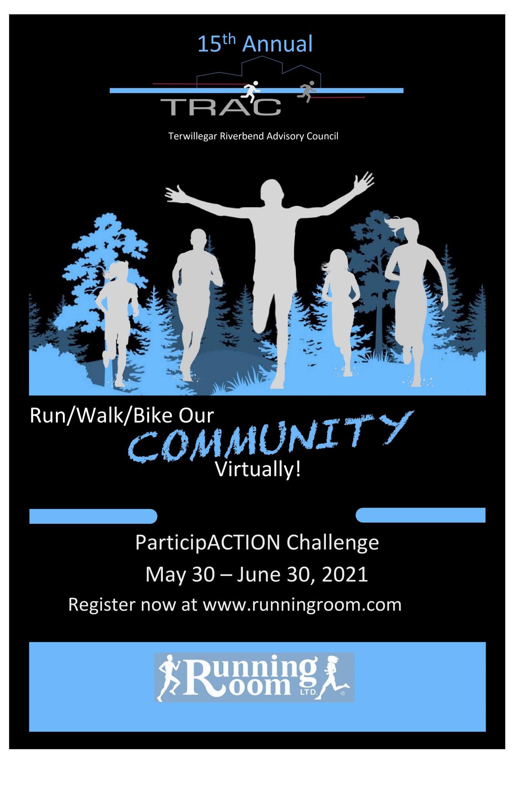 TRAC community run/walk
